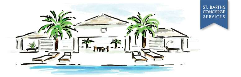 WIMCO Villas, St Barths, Villa concierge services, Villa poolside