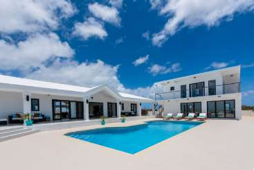 Villa Pool at Villa AXA PBA (Pelican Bay) at Blowing Point, Anguilla, Family-Friendly, Pool, 4 Bedroom, 4 Bathroom, WiFi, WIMCO Villas