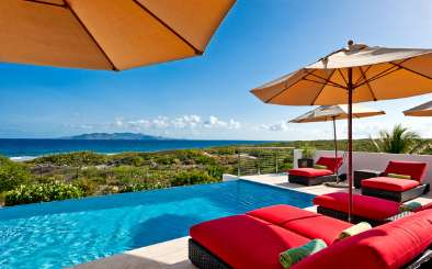 Villa Pool at Villa AXA TEQ (Tequila Sunrise) at Sandy Hill, Anguilla, Family-Friendly, Pool, 3 Bedroom, 3 Bathroom, WiFi, WIMCO Villas