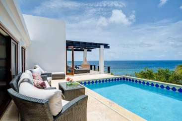 Villa Pool at Villa AXA WAV (Waves) at Shoal Bay East, Anguilla, Family-Friendly, Pool, 3 Bedroom, 3 Bathroom, WiFi, WIMCO Villas