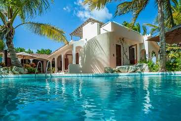 Villa Pool at Villa IDP LEM (L'Embellie) at Forest Bay, Anguilla, Family-Friendly, Pool, 3 Bedroom, 3 Bathroom, WiFi, WIMCO Villas