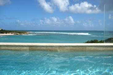 The view from Villa IDP MRI (Moonrise) at Little Harbour, Anguilla, Family-Friendly, Pool, 3 Bedroom, 3 Bathroom, WiFi, WIMCO Villas