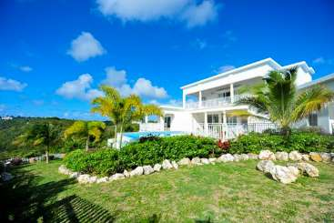 Exterior of Villa IDP OCA (Ocassa) at Sandy Point, Anguilla, Family-Friendly, Pool, 5 Bedroom, 5 Bathroom, WiFi, WIMCO Villas