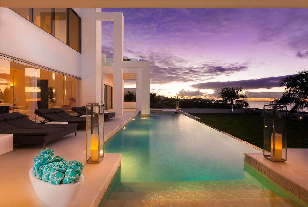 Anguilla villa rentals villa lhe bhs 8br rental villa the beach house wimco villas