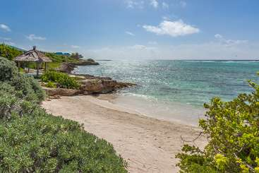 Beach at Villa AXA KAM2 (Anani at Kamique) at Little Harbour, Anguilla, Family-Friendly, Pool, 4 Bedroom, 4 Bathroom, WiFi, WIMCO Villas
