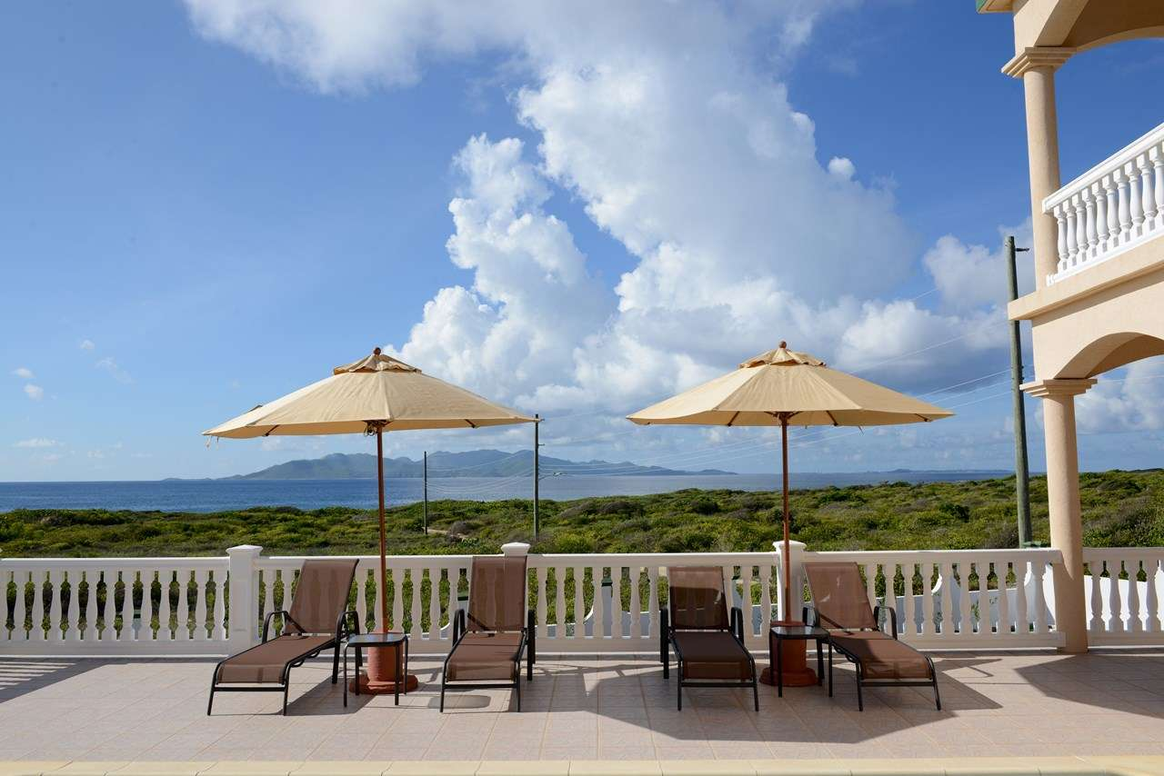 The view from Villa RIC MGM (Ocean Gem) at Forest Bay, Anguilla, Family-Friendly, Pool, 3 Bedroom, 3 Bathroom, WiFi, WIMCO Villas