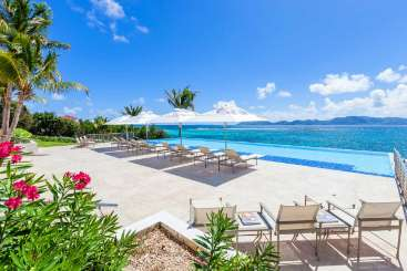 Anguilla Incredible Pool at VillaParadise