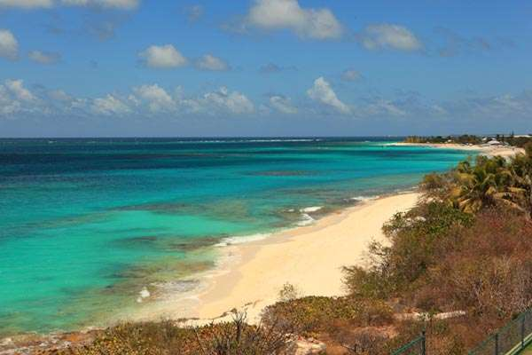 Beach at Villa TVM BLP (Black Pearl) at Shoal Bay East, Anguilla, Family-Friendly, Pool, 4 Bedroom, 4 Bathroom, WiFi, WIMCO Villas