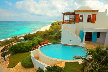 Villa Pool at Villa TVM BLP (Black Pearl) at Shoal Bay East, Anguilla, Family-Friendly, Pool, 4 Bedroom, 4 Bathroom, WiFi, WIMCO Villas
