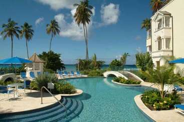 Villa Pool at Villa AA CHI (Schooner Bay #108 - Chilterns) at Schooner Bay - St. Peter, Barbados, Family-Friendly, Pool, 1 Bedroom, 2 Bathroom, WiFi, WIMCO Villas, Available for the Holidays