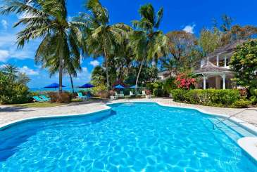 Villa Pool at Villa AA EB3 (Emerald Beach #3 Ixoria) at Gibbs Beach, Barbados, Family-Friendly, Pool, 3 Bedroom, 3 Bathroom, WiFi, WIMCO Villas