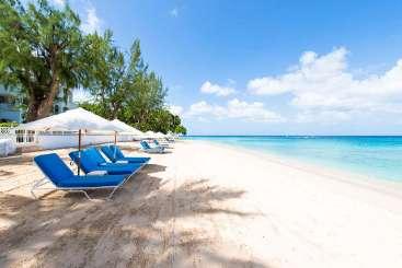 Barbados Beachfront Villa Old Trees Bay - Halcyon