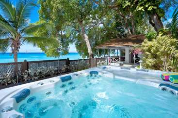 Jacuzzi at Villa AA LUN (La Lune) at St. Peter, Barbados, Family-Friendly, Pool, 2 Bedroom, 2 Bathroom, WiFi, WIMCO Villas