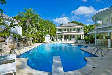 Barbados Beachfront Villa St. Helena