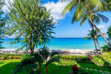 The view from Villa BGI SUN (Sunset ar Old Trees) at Paynes Bay - St. James, Barbados, Family-Friendly, Pool, 3 Bedroom, 3 Bathroom, WiFi, WIMCO Villas