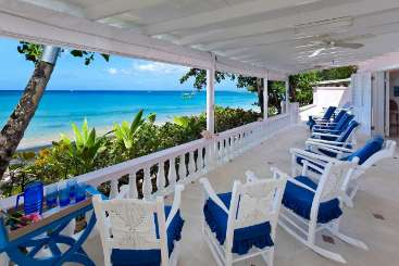 Barbados Beachfront Villa Belair
