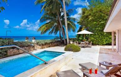 Terrace at Villa BS LMT (Leamington Cottage) at Leamington - St. Peter, Barbados, Pool, 1 Bedroom, 1.5 Bathroom, WiFi, WIMCO Villas