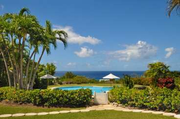 The view from Villa RL FLA (San Flamingo) at Polo Ridge - St. James, Barbados, Family-Friendly, Pool, 5 Bedroom, 5 Bathroom, WiFi, WIMCO Villas