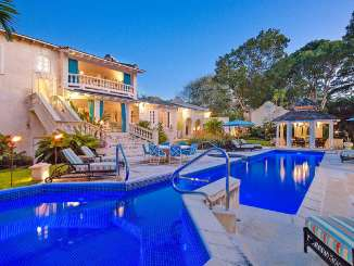 Villa Pool at Villa RL GRE (Grendon House) at Sandy Lane Estate - St. James, Barbados, Family-Friendly, Pool, 5 Bedroom, 5 Bathroom, WiFi, WIMCO Villas