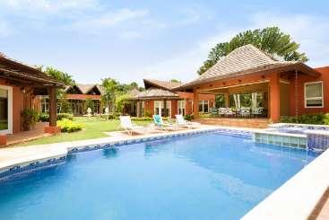 Villa Pool at Villa DR FTS (Las Fuentes at Casa De Campo) at La Romana, Dominican Republic, Family-Friendly, Pool, 4 Bedroom, 4 Bathroom, WiFi, WIMCO Villas