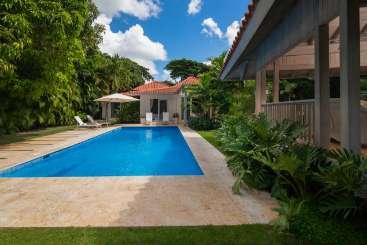 Villa Pool at Villa DR PAZ (Villa Paz at Casa de Campo) at La Romana, Dominican Republic, Family-Friendly, Pool, 4 Bedroom, 4 Bathroom, WiFi, WIMCO Villas