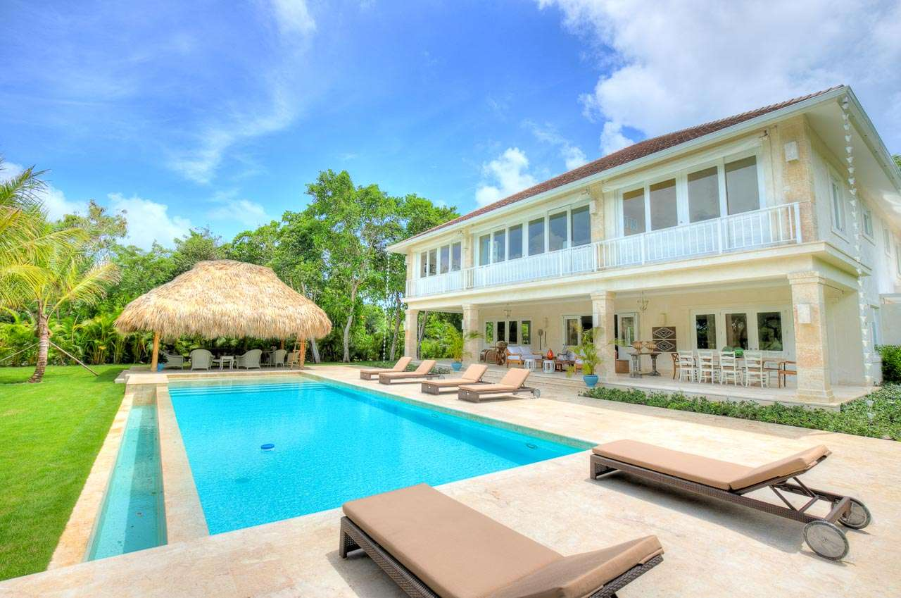 Villa Pool at Villa DR BNV (Hacienda A13 -Buena Vida) at Punta Cana, Dominican Republic, Family-Friendly, Pool, 4 Bedroom, 4 Bathroom, WiFi, WIMCO Villas