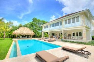 Villa Pool at Villa DR BNV (Hacienda Buena Vida) at Punta Cana, Dominican Republic, Family-Friendly, Pool, 4 Bedroom, 4 Bathroom, WiFi, WIMCO Villas