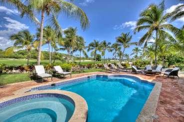 Villa Pool at Villa DR CAL (Caleton) at Cap Cana, Dominican Republic, Family-Friendly, Pool, 3 Bedroom, 3 Bathroom, WiFi, WIMCO Villas