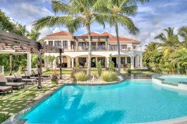 Villa Pool at Villa DR AR23 (Arrecife 23) at Punta Cana, Dominican Republic, Family-Friendly, Pool, 4 Bedroom, 4 Bathroom, WiFi, WIMCO Villas
