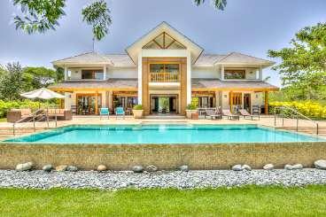 Villa Pool at Villa DR HA82 (Hacienda Punta Cana) at Punta Cana, Dominican Republic, Family-Friendly, Pool, 4 Bedroom, 4 Bathroom, WiFi, WIMCO Villas