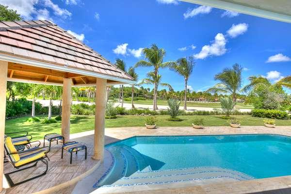 Villa Pool at Villa DR TB33 (Tortuga Bay C33) at Punta Cana, Dominican Republic, Family-Friendly, Pool, 4 Bedroom, 4 Bathroom, WiFi, WIMCO Villas