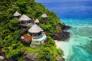 Fiji Private Island  Peninsula Villa at Laucala Island