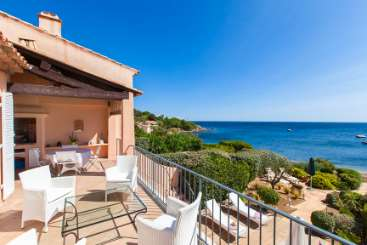 The view from Villa ACV BEM (Bluetime Emotion) at St. Tropez & The Var, France, Family-Friendly, Pool, 4 Bedroom, 2 Bathroom, WiFi, WIMCO Villas