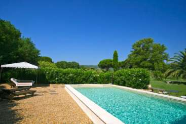 Villa Pool at Villa ACV PMC (Le Petit Mas de Charme) at St. Tropez & The Var, France, Family-Friendly, Pool, 3 Bedroom, 2 Bathroom, WiFi, WIMCO Villas, Available for the Holidays