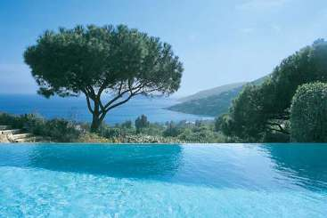 The view from Villa RES 5BED (La Reserve Ramatuelle - 5 BR) at St. Tropez & The Var, France, Family-Friendly, Pool, 5 Bedroom, 5 Bathroom, WiFi, WIMCO Villas