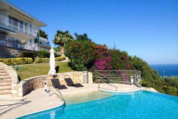 Villa Pool at Villa YNF BEL (La Bellevue) at Cote D Azur - Nice to Monaco, France, Family-Friendly, Pool, 4 Bedroom, 4 Bathroom, WiFi, WIMCO Villas