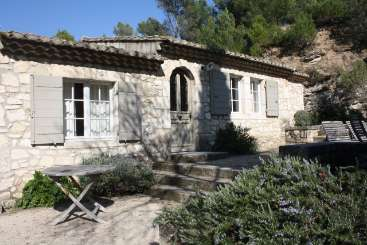 Exterior of Villa YNF DMA (Le Mazet Domitia) at Provence - Les Alpilles Area, France, Family-Friendly, No Pool, 2 Bedroom, 1 Bathroom, WiFi, WIMCO Villas