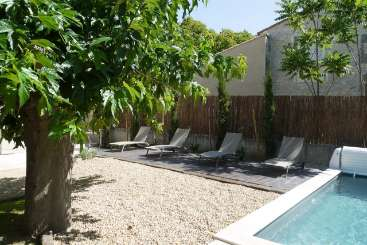 Villa Pool at Villa YNF GRE (La Bastide du Gres) at Provence - Les Alpilles Area, France, Family-Friendly, Pool, 4 Bedroom, 4 Bathroom, WiFi, WIMCO Villas