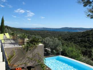 The view from Villa YNF HDG (Les Hauts de Grimaud) at St. Tropez & The Var, France, Family-Friendly, Pool, 4 Bedroom, 3.5 Bathroom, WiFi, WIMCO Villas