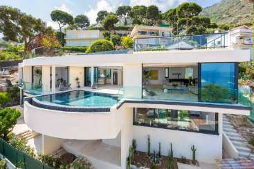 Exterior of Villa YNF INF (Infinity) at Cote D Azur - Nice to Monaco, France, Family-Friendly, Pool, 5 Bedroom, 5 Bathroom, WiFi, WIMCO Villas