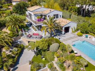 Aerial photo of Villa YNF MAR (Marilyn) at St. Tropez & The Var, France, Family-Friendly, Pool, 5 Bedroom, 5.5 Bathroom, WiFi, WIMCO Villas