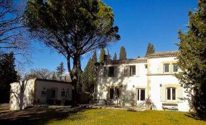 Exterior of Villa YNF MMG (Mas du Mont Gaussier) at Provence - Les Alpilles Area, France, Family-Friendly, Pool, 5 Bedroom, 5 Bathroom, WiFi, WIMCO Villas