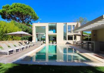 Villa Pool at Villa YNF VER (Villa de Verre) at St. Tropez & The Var, France, Family-Friendly, Pool, 4 Bedroom, 4 Bathroom, WiFi, WIMCO Villas