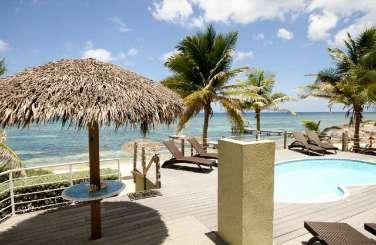 Grand Cayman, Cayman Islands Beachfront Villa Beach Plum Villa