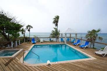 Villa Pool at Villa CM SHE (Shellen) at East End, Grand Cayman, Family-Friendly, Pool, 3 Bedroom, 2 Bathroom, WiFi, WIMCO Villas