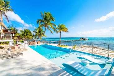 Villa Pool at Villa GCM BST (Blue Serenity) at Cottage District, Grand Cayman, Family-Friendly, Pool, 4 Bedroom, 4 Bathroom, WiFi, WIMCO Villas