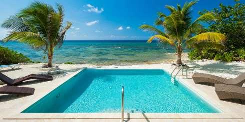Villa Pool at Villa GCM CPM (Christmas Palms) at Old Man Bay, Grand Cayman, Family-Friendly, Pool, 4 Bedroom, 3.5 Bathroom, WiFi, WIMCO Villas