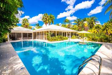 Villa Pool at Villa GCM GES (Great Escape) at Rum Point, Grand Cayman, Family-Friendly, Pool, 4 Bedroom, 3 Bathroom, WiFi, WIMCO Villas