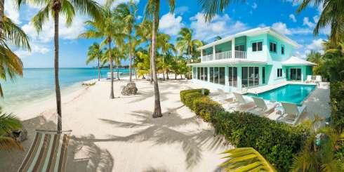 Grand Cayman, Cayman Islands Beachfront Villa Kai Zen