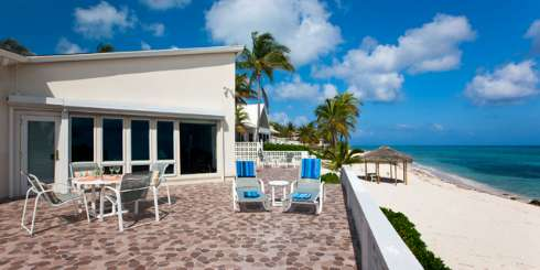 Patio at Villa GCM MGL (Moon Glow) at Rum Point, Grand Cayman, Family-Friendly, No Pool, 2 Bedroom, 2 Bathroom, WiFi, WIMCO Villas
